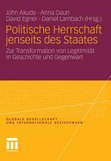 Politische Herrschaft jenseits des Staates PDF