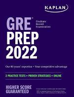 GRE Prep 2022