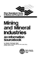 Mining and Mineral Industries PDF