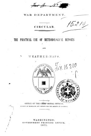 The Practical Use of Meteorological Reports and Weather maps