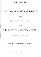 The Congressional Globe: Volume 60
