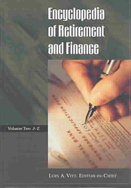 Encyclopedia of Retirement and Finance PDF