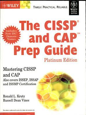 THE CISSP AND CAP PREP GUIDE  PLATINUM ED  With CD   PDF