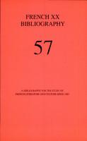 French XX Bibliography PDF