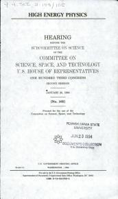 High Energy Physics PDF