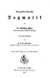 Evangelisch-Lutherische Dogmatik