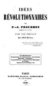 Idéés révolutionnaires
