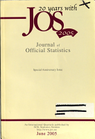 Journal of Official Statistics PDF