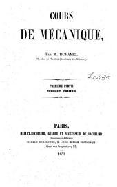 Cours de mecanique: 1:, Page1