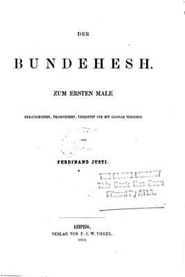 Der Bundehesh PDF