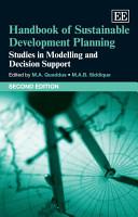 Handbook of Sustainable Development Planning PDF