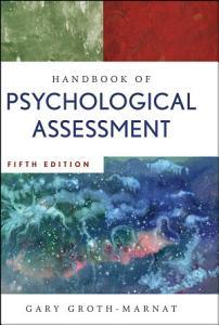 Handbook of Psychological Assessment Book