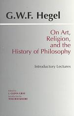 On Art, Religion, and the History of Philosophy