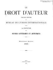 Le Droit d'auteur: Volume8