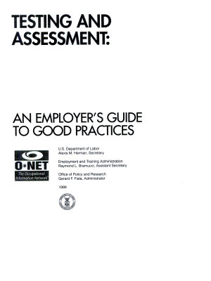 Testing and Assessment PDF