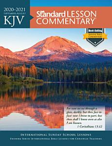 KJV Standard Lesson Commentary   2020 2021 Book
