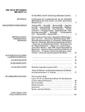 Die Neue B  cherei PDF