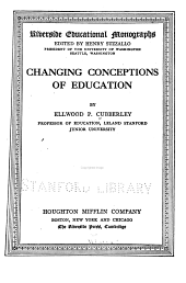 Changing Conceptions of Education