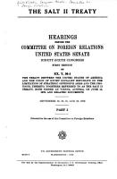 The Salt II Treaty PDF