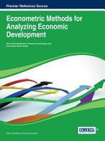 Econometric Methods for Analyzing Economic Development PDF