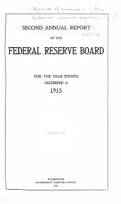 Annual Report: Volumes 2-4
