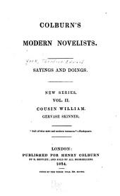 Sayings and Doings: New [i.e. Third] Series ..., Volume 2