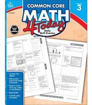Common Core Math 4 Today  Grade 3 PDF