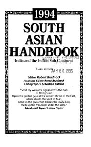 South Asian Handbook PDF