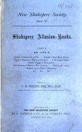 Shakespere Allusion-books