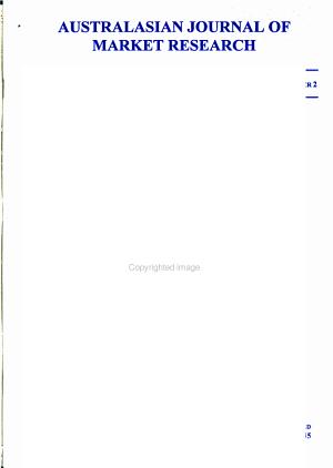 Australasian Journal of Market Research PDF