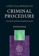 A Practical Approach to Criminal Procedure PDF