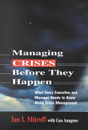 Managing Crises Before They Happen
