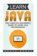 Learn Java PDF