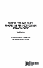 Current Economic Issues  Tenth Edition PDF