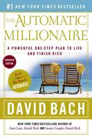 The Automatic Millionaire  Canadian Edition PDF