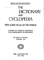 The Century Dictionary and Cyclopedia: The Century atlas of the world, prepared under the superintendence of Benjamin E. Smith