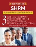 SHRM Exam Prep Practice Questions 2020 2021 PDF