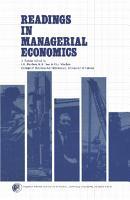 Readings in Managerial Economics PDF
