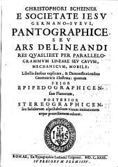 Pantographice seu Ars Delineandi