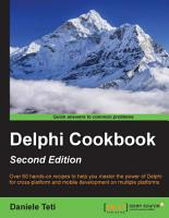 Delphi Cookbook PDF