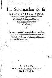 La sciomachie et festins faits à Rome pour la naissance de Monseigneur d'Orléans