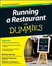 Running a Restaurant For Dummies: Edition 2