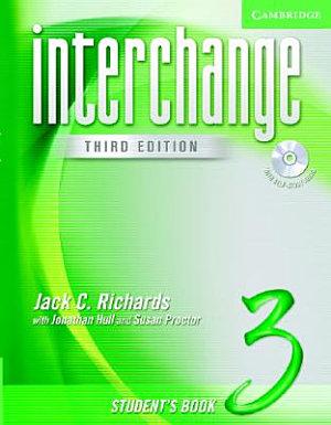 Interchange Student s Book 3 with Audio CD PDF