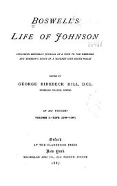 Boswell's Life of Johnson: Life (v. 1, 1709-1765; v. 2 1765-1776; v. 3, 1776-1780; v. 4, 1780-1784)