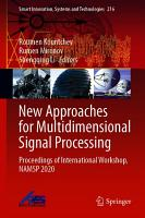 New Approaches for Multidimensional Signal Processing PDF