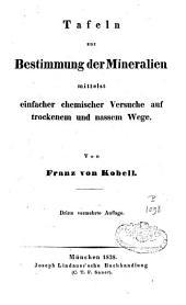 Tafeln zur Bestimmung der Mineralien