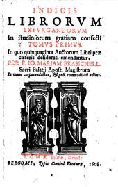 Index librorum expurgandorum ... Romae primo deinde (etc.)