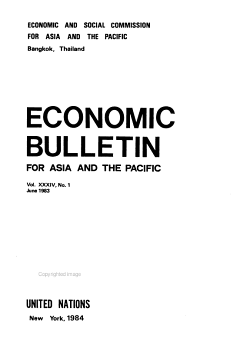 Economic Bulletin for Asia and the Far East PDF