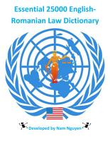 Essential 25000 English Romanian Law Dictionary PDF