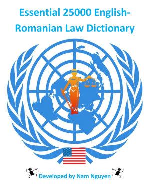 Essential 25000 English Romanian Law Dictionary PDF